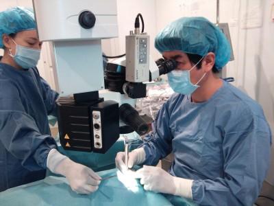 当院の白内障手術の特徴について(極小切開白内障手術)